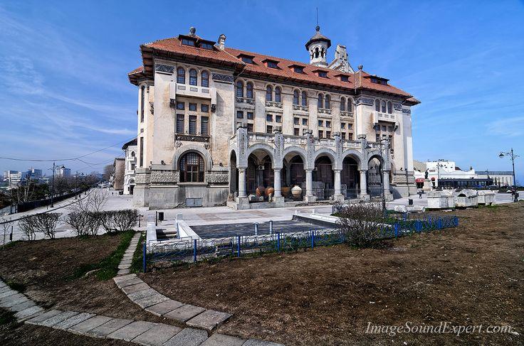 arhitectura constanta,  muzeul de istorie si arheologie constanta, architecture constanta, constanta architektur