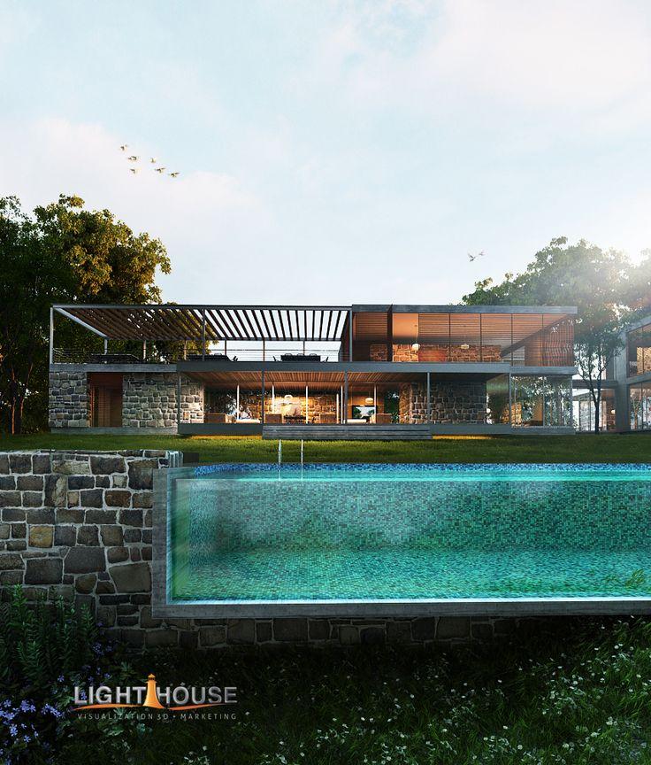 SAHADE HOUSE PRINCIPAL FACADE