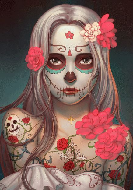 Day of the dead. ❣Julianne McPeters❣ no pin limits