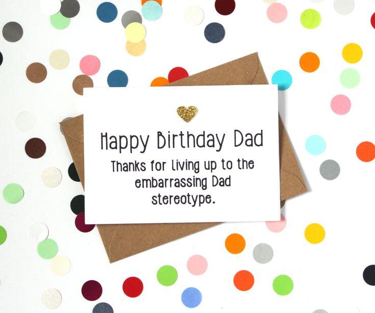 25 melhores ideias de Happy birthday dad funny no Pinterest – Happy Birthday Cards for Dad