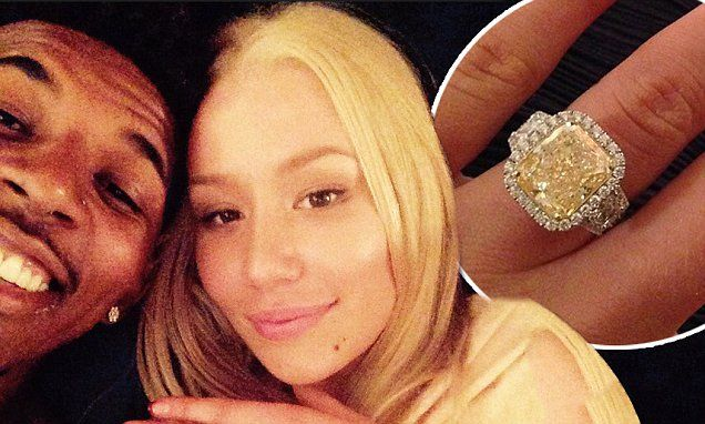 Iggy Azalea engaged to beau Nick Young