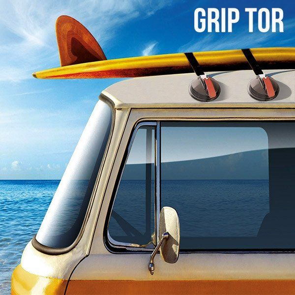 GRIP TOR SUCTION PADS FOR CAR ROOFS (PACK OF 2) - Geeks Buy Gadgets