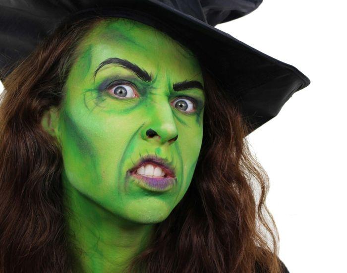 Les 25 meilleures id es de la cat gorie maquillage sorciere sur pinterest maquillage halloween - Maquillage de sorciere pour halloween ...