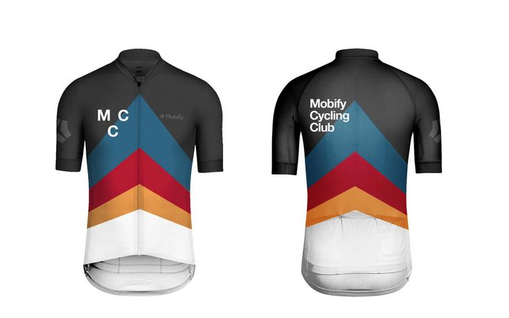 Mobify Cycling Club Jersey - MYUNIVERSEISYOURS   Works by Andrew Wu, UI/UX Design, Graphic Design, Illustration