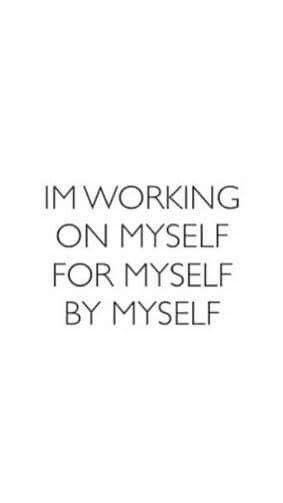 Myself. Only. #Citation