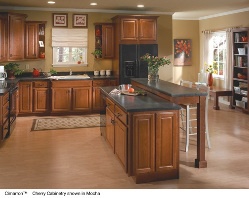 Casual Country Cabinets   Armstrong Kitchen Cabinets And Bath Vanities  L  Orientation