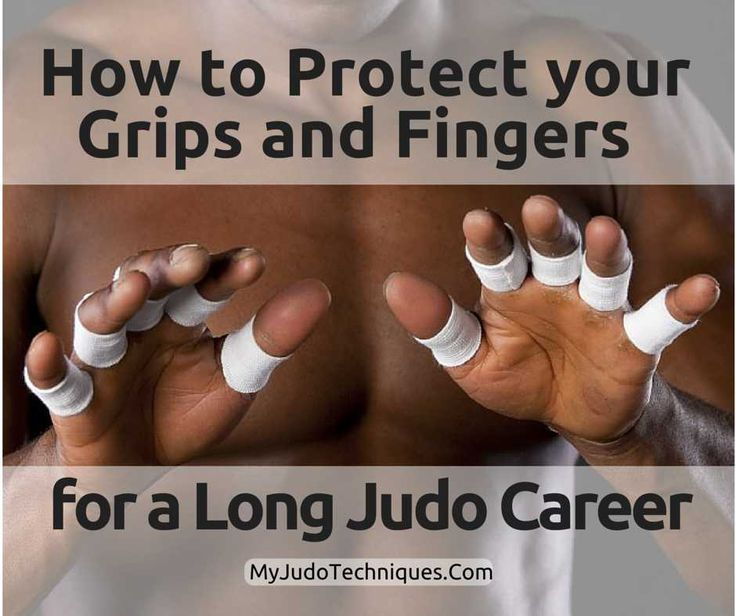 How to Protect your Grips and Fingers to Enjoy a Long Judo Career - Myjudotechniques
