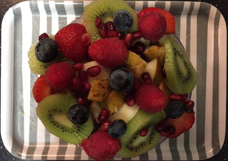 All-bran plus / chai / lijnzaad / cashewnoten / wortel / bietjes / fruit breakfast