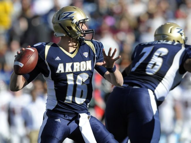 Akron Zips vs. Eastern Michigan Eagles Pick-Odds-Prediction 10/4/14: Mark's Free College Football Pick Against the Spread