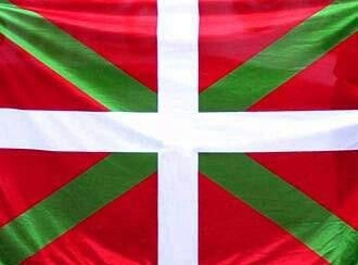Don't mess with those who have a Basque flag