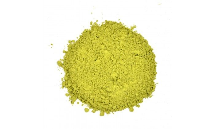 Izu-Matcha Green Tea: This matcha tea has a jammy-like smoothness with a very satisfying full cup.  Luxury grade Japanese-style green tea and Gyokuro gives a light astringent finish.  Antioxidant level is very high and caffeine is low Hot matcha latte brewing method: Use 1/2 tsp. (1g) per 8oz. (225ml) serving. Add 1/2 tsp. (1g) to base of cup and add 2oz. of hot water and mix vigorously to make a smooth paste-like liquid. Top with freshly steamed milk (or substitute) and sweeten to taste.