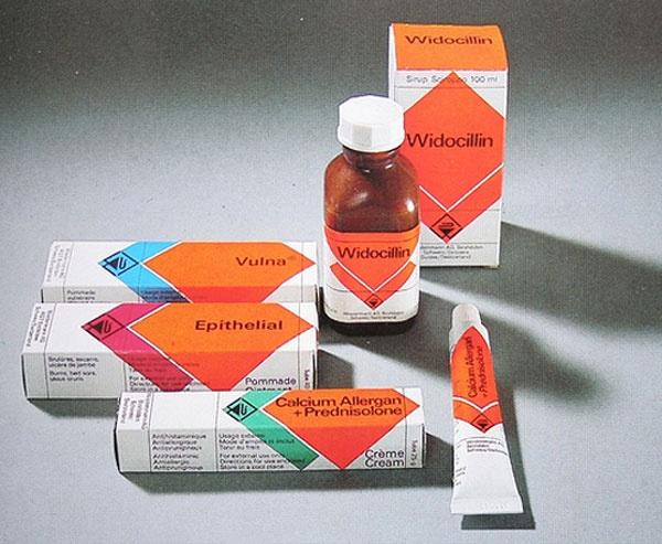 Vintage Pharmaceutical Packaging