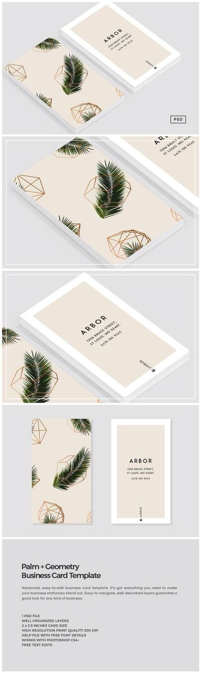 Logo design card