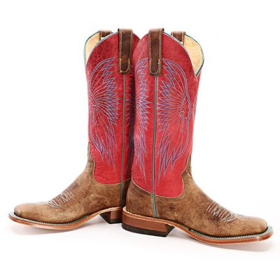 BootDaddy Collection with Anderson Bean Dune Bison Cowgirl Boots
