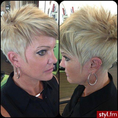 Schönheit kommt mit dem Alter! Kurzhaarfrisuren für Frauen im besten Alter! - Neue Frisur