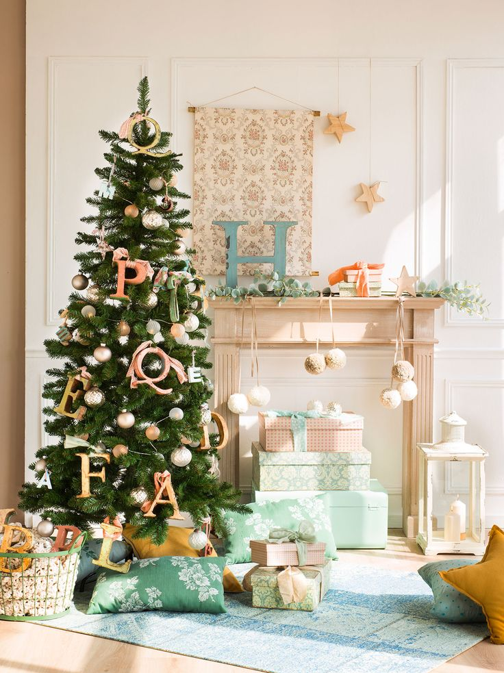 Ideas para decorar el rbol de navidad 3 rboles 3 - Ideas para decorar estrellas de navidad ...