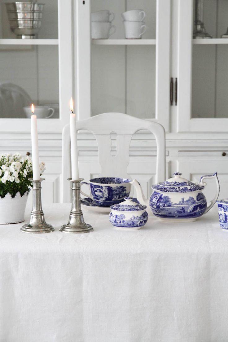 Spode | Blue Italian Tekanna 1,1 L | Matilde & Co | Handla online