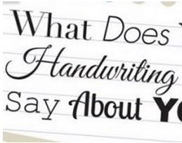 What Does Your Handwriting Say About You? RT @SocialSteamr @rob_a_nielsen #