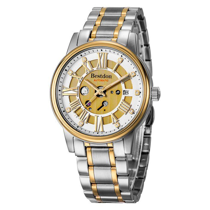Bestdon 7109G Automatic Mechanical Male Watch with Sapphire Glass