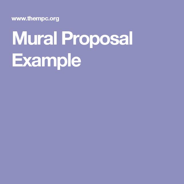 17 best ideas about proposal example on pinterest
