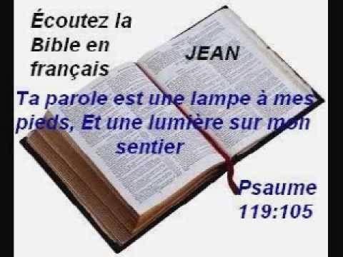 Ecoutez l'Evangile de Jean en français - YouTube