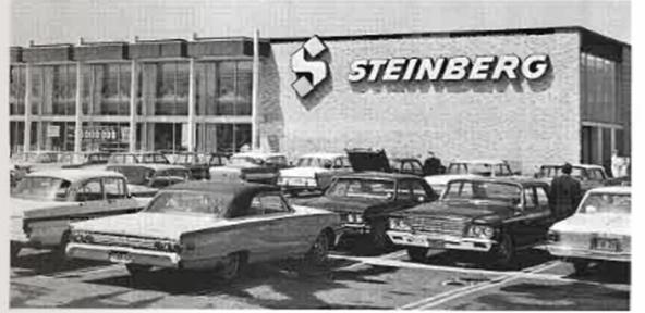 Steinberg's, Jean-Talon & Provencher, St-Leonard (Montreal), Canada, 1966 by GrocerymaniaAgain, via Flickr