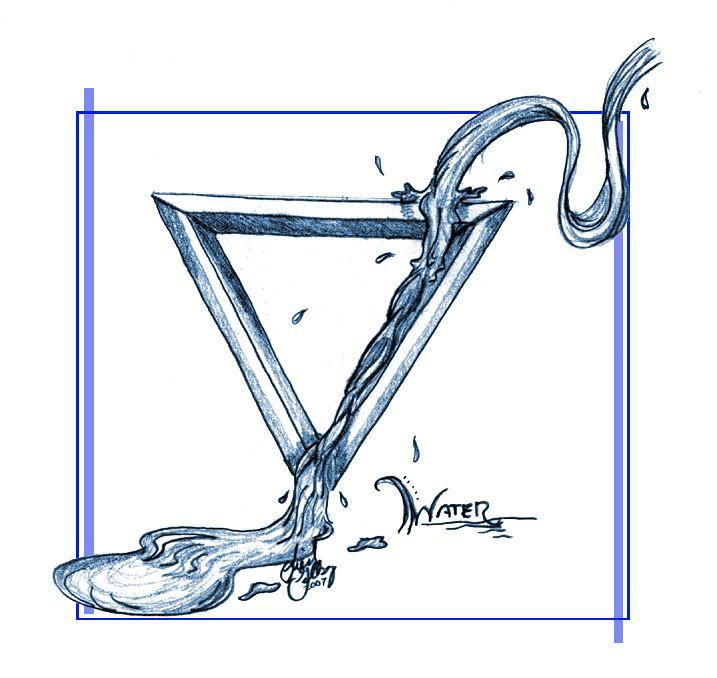 "Elements Water:  ""Element: Water,"" by kaleeko, at deviantART."