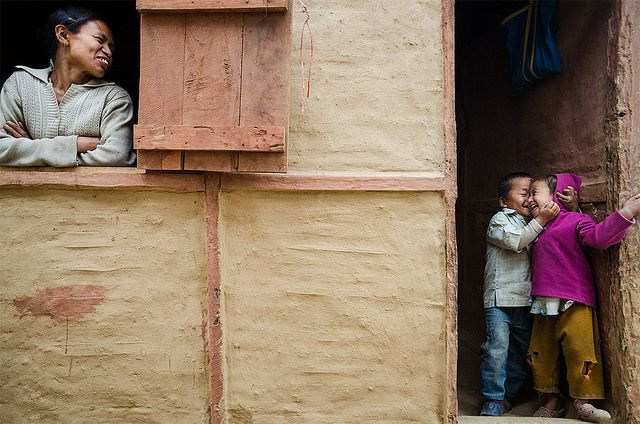 Happy Family - Street Photography and The Art of Composition