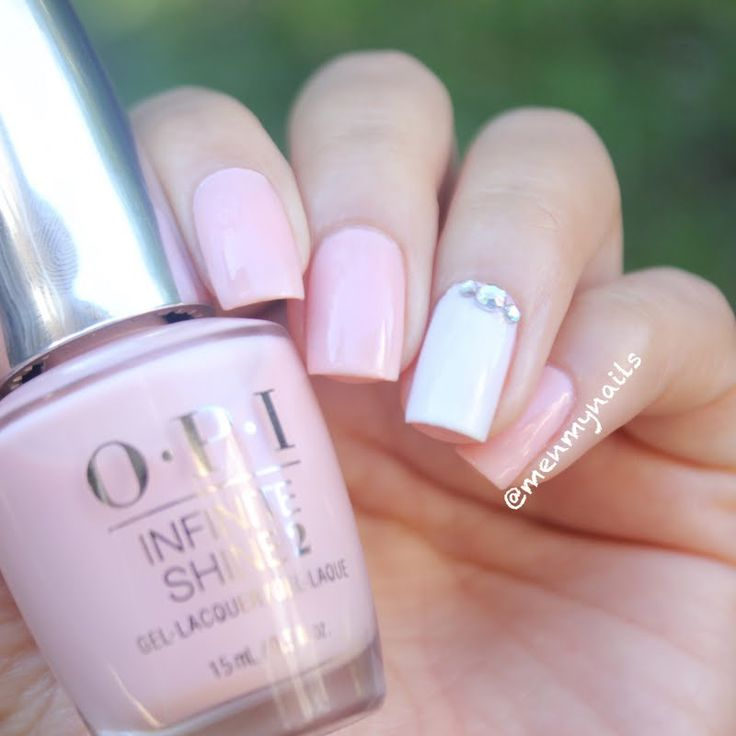 Archana adds a dose of romance to this wedding-inspired mani using her gifted OPI Infinite Shine 2 Icons Nail Lacquer in Bubble Bath that she received for being a Preen.Me VIP. Check out your other #InfiniteOptions by clicking through.