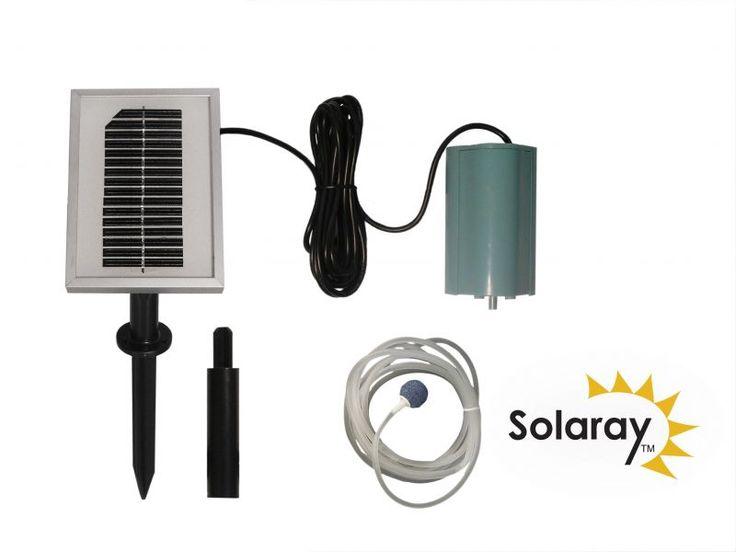 Aérateur/Oxygénateur Solaire 1 Pierre
