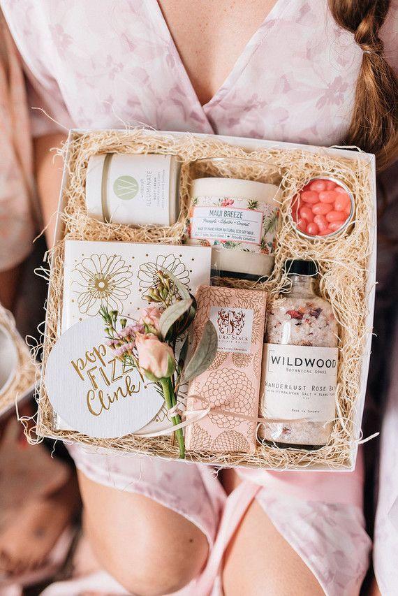 Bridesmaid Gift Box By Present Day Gifts Box Bridesmaid Day
