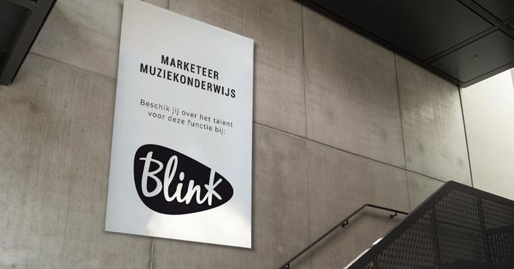 Ben jij de nieuwe Marketeer Muziekonderwijs bij Blink?