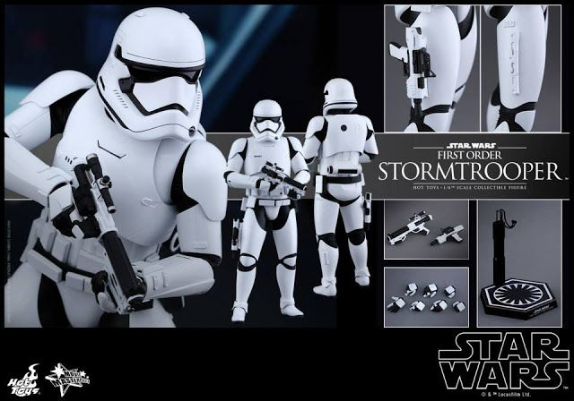 onesixthscalepictures: Hot Toys Star Wars The Force Awakens - FIRST ORDER STORMTROOPER : Latest product news for 1/6 scale figures (12 inch collectibles).