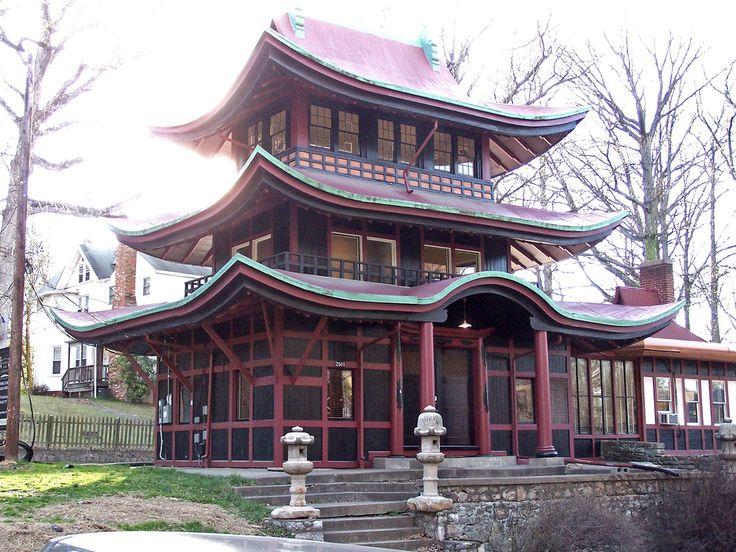Silver Spring Forest Glen Seminary Japanese Pagoda 30 Mar 2007.
