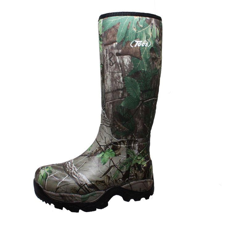 """9735 Men's 16"""" Rubber Boot Camo"""