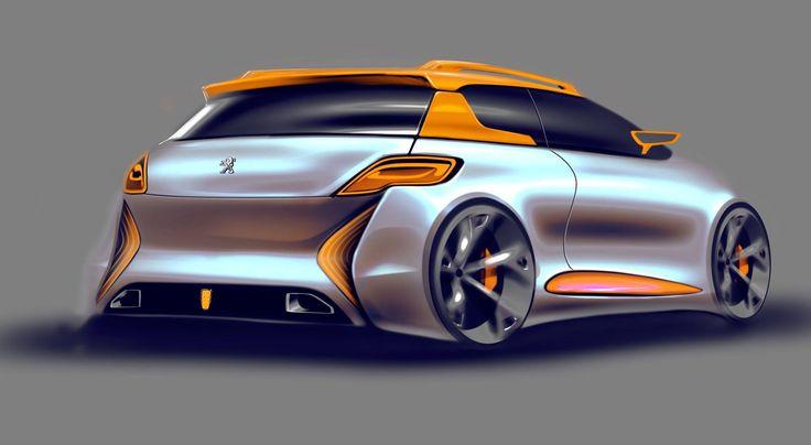 peugeot 206 concept Alessandro_Zanotti