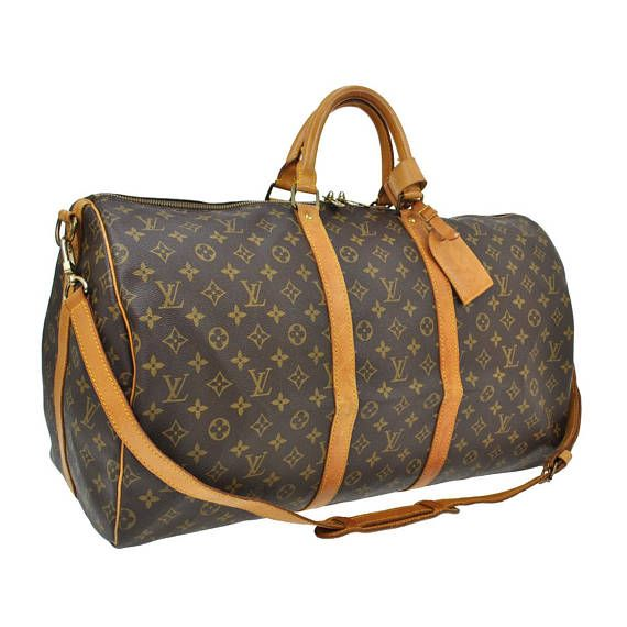 Louis Vuitton Vintage Authentic Keepall 55 Bandouliere Travel