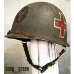 eBay Image 1 34TH INFANTRY DIVISION MEDIC  WWII M1 HELMET AND LINER