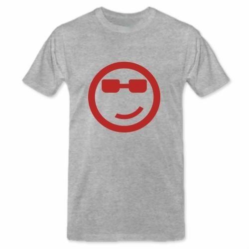 """Grey T-shirt:"""" Faccina con gli occhiali"""" €19.00  http://www.12print.it/artshop/moda&moda/maglietta-faccina-con-gli-occhiali-3096.htm"""