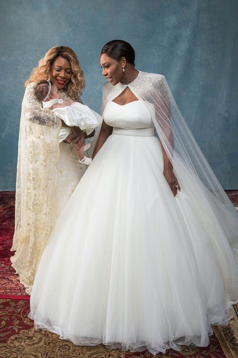 Serena Williams' Perfect Wedding...  Wow, simple but elegant & timeless.