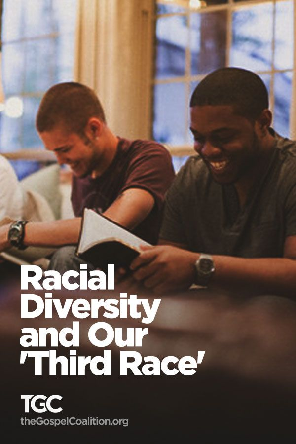 Racial Diversity and Our 'Third Race'  Is your third race more important to you than your first race?  http://www.thegospelcoalition.org/article/racial-diversity-in-the-church-and-our-third-race-jd-greear