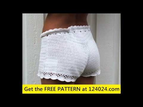 Crochet Tutorial - Beach Shorts Simple and Quick Pattern - YouTube