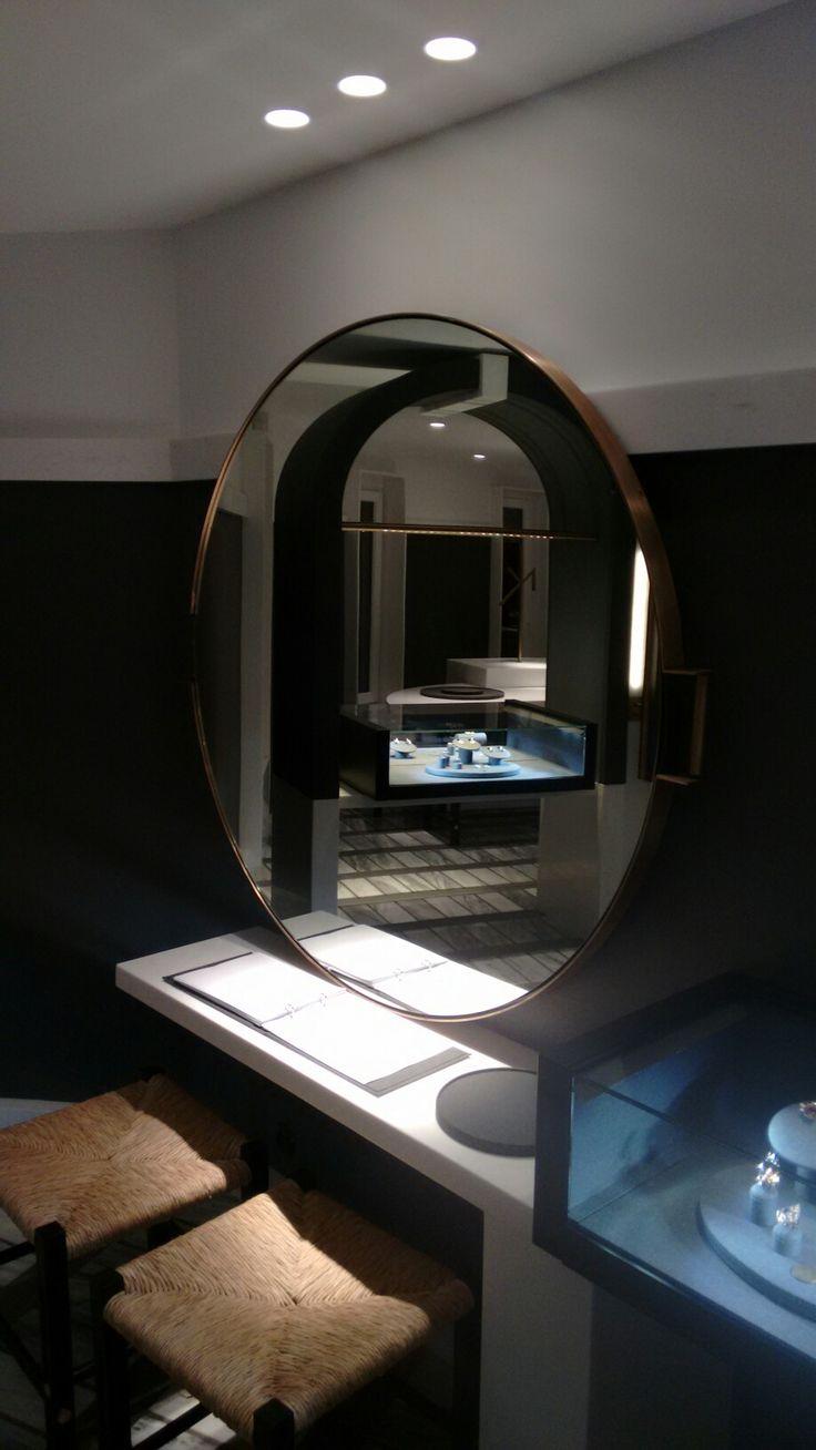 Nikos Koulis Jewels Santorini,  display, lighting and furniture design