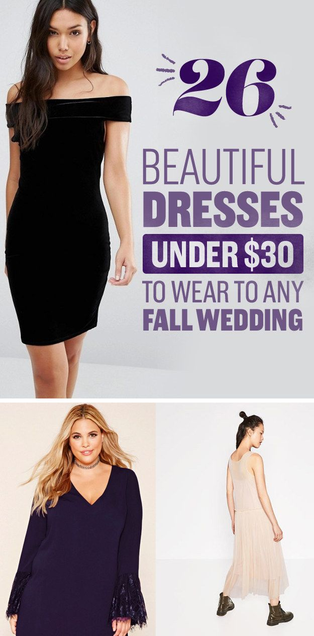 Dresses for both casual weddings and fancy schmancy shindigs.