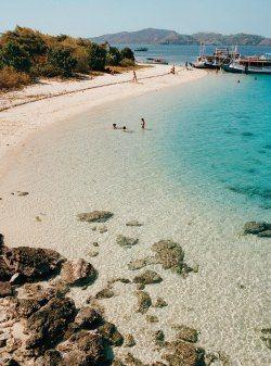 Deserted Beach, Nusa Tenggara, Indonesia