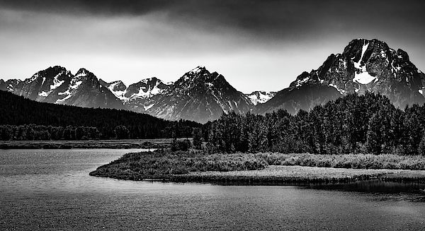 Black And White Landscape Photography Of Grand Teton National Park Nature Art Nature Photogra Landscape Wall Art Black And White Landscape Nature Photography
