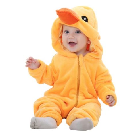 Yellow Duck Jumpsuit Baby Rompers **FREE+SHIPPING**