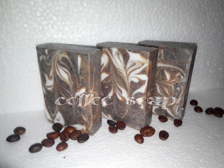 I love making coffee soap as much as I love drinking coffee.  This is made with java arabica coffee.  yumm...