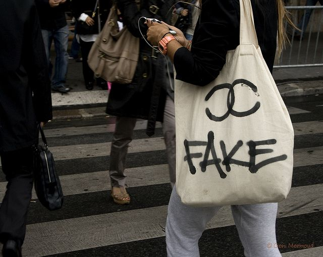 Fake Chanel Tote LOL