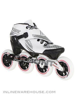 Bont Jet Inline Speed Skates 3pt Mount